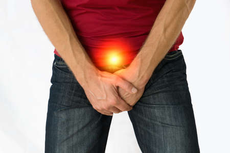 Man with incontinence, prostate, infection problem.