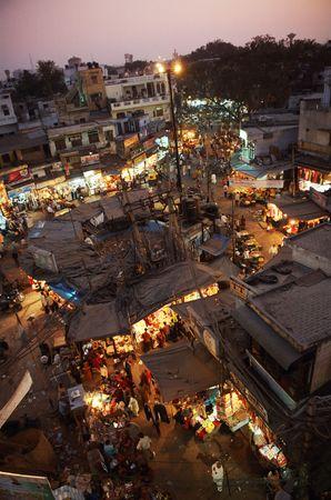 bazar: India, Delhi, main bazar