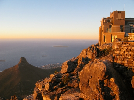 table mountain national park: Table Mountain and Lion s Head located in Cape Town, South Africa  The Table Mountain National Park