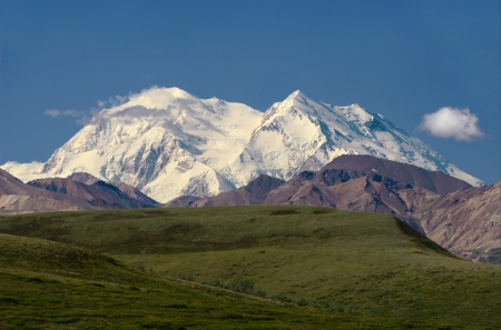 mckinley: Mount Mckinley, Denali National Park, Alaska