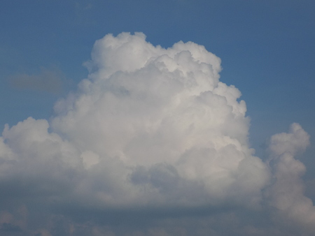convective: Convective clouds Stock Photo