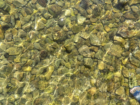 crystal clear: Crystal clear sea