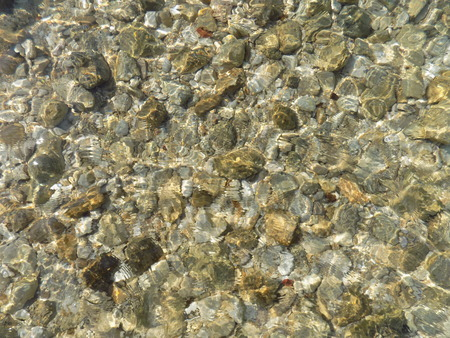 clear water: Crystal clear water in sea