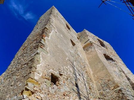 ruins: Castle ruins Stock Photo