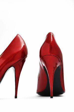 Red High Heels Stock Photo - 10819479