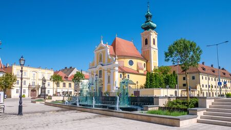 The Carmelite Church of Gyor is one of the most important historic churches of the city, the most important building in the cityscape of the Vienna Gate Square.