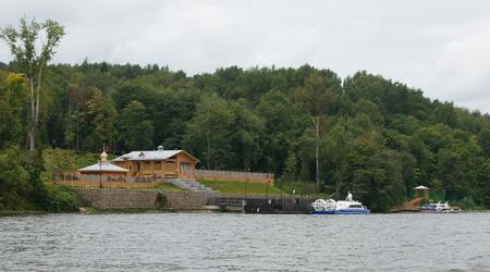 volga: Ples. View from the Volga