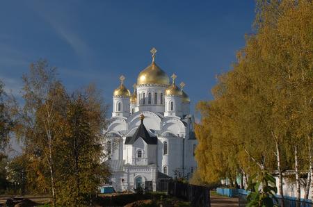 seraphim: Russia. Diveevo. Monastery of St. Seraphim of Sarov. Transfiguration Cathedral