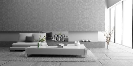 modern interior of living room 3D Stock Photo - 7109397