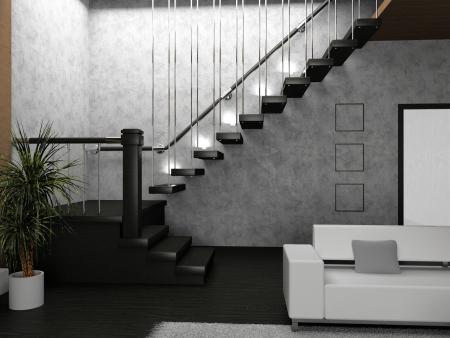 Living room 3D Stock Photo - 23000571