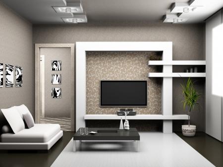 Living room 3D Stock Photo - 23000605