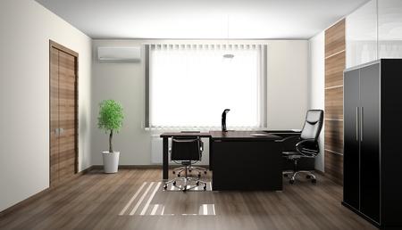 Interior of modern office 3D Standard-Bild - 11252900