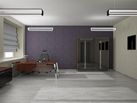 Interior of modern office 3D Stock Photo - 13185080