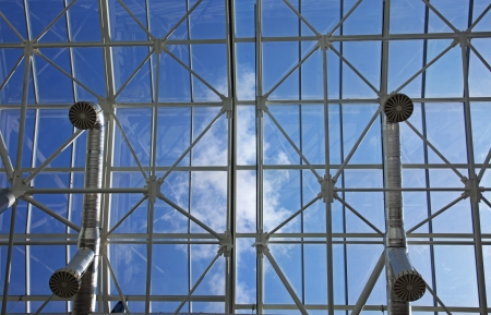 metal structures in the sky Stock Photo - 14897077