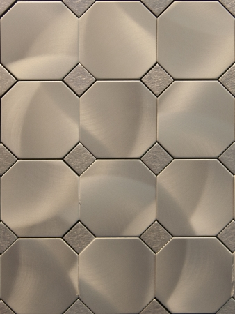The actual texture of metal tiles Stock Photo - 19104781
