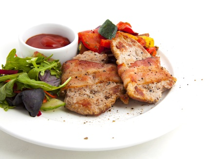Photo of meat with vegetables Stock Photo - 21195821