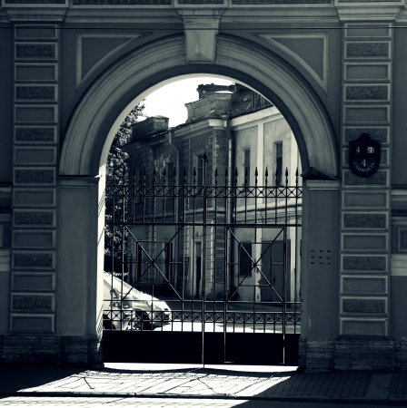 gate in the city Stock Photo - 22141527