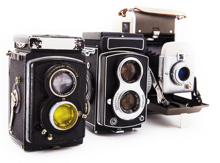 fashion photography: Photo the old photo camera