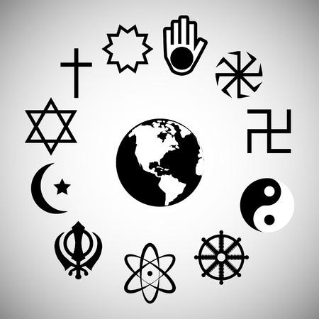 bahai: religion icon