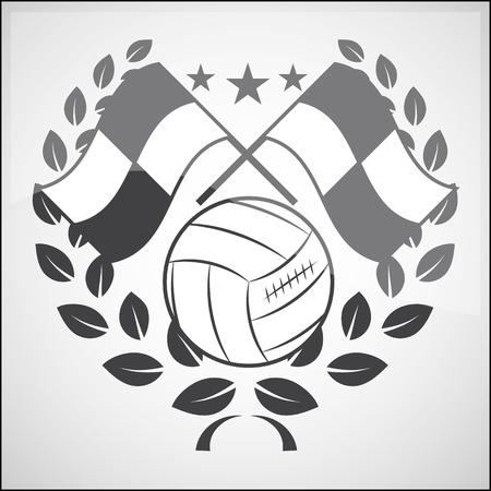 offside: Logo and emblem icon soccer Illustration