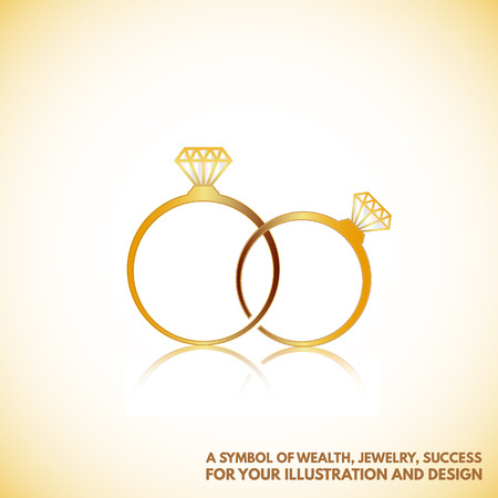 faceting: a symbol of wealth, success, Jewelry ,for your illustration and design