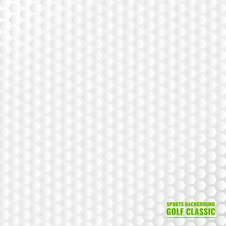closed club: Realistic rendition of golf ball texture closeup