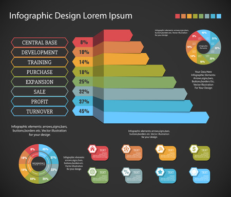 orginal: Timeline Infographic design templates # 5. With paper tags. Idea to display information, ranking and statistics with orginal and modern style.