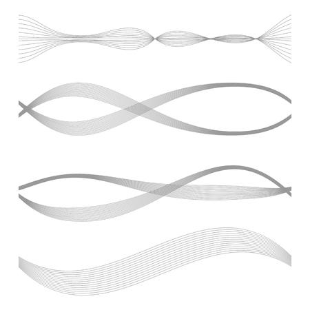 soundtrack: The equalizer, equalizer set,  icon set, vector set of waves, vector icons set waves, musical wave, sound waves, audio wave icon set, Audio equalizer technology, pulse musical , pulse musical set. Illustration
