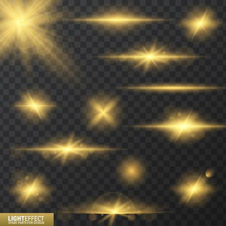luminescence: Illustration of gow luminescence for design