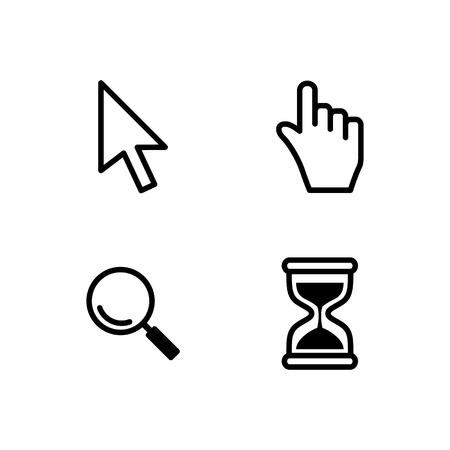 two dimensional: Set of cursors for your application
