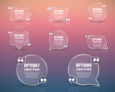 citation: Frame for text.Website review quote citation blank template. Website review vector icon. Quote comment template. Quote bubble. Shop customer review template. Illustration