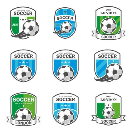collegiate: illustration of football theme icons