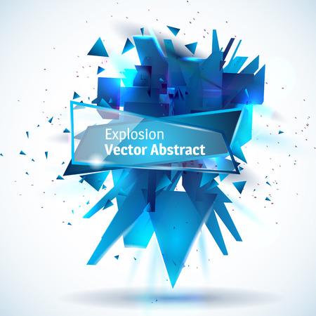 matter: illustration abstract object explosion substance matter
