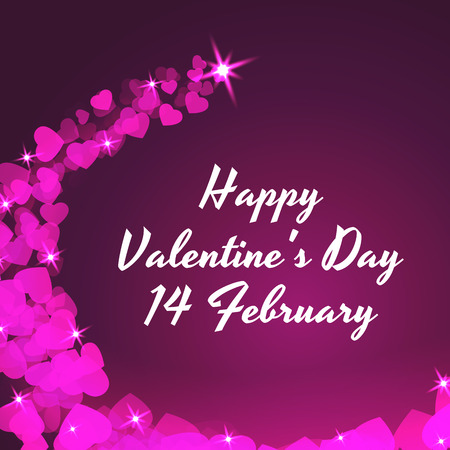 st valentin: Valentine s Day. Vector, celebratory background.