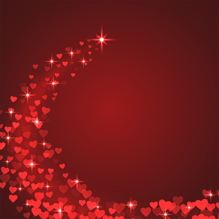 st valentin: Valentine s Day. celebratory background. Vector illustration on the theme of the feast of St. Valentine. Creative greeting. Illustration with hearts.