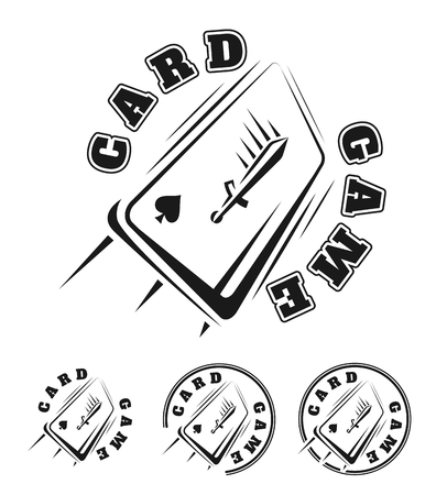 Emblem of the card game.