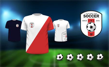 Football logos Vector.