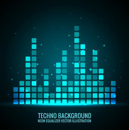 Vector audioschalen. Stock Illustratie