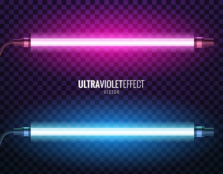 Vector of ultraviolet light. Vettoriali