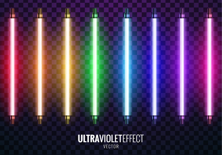 Vector of ultraviolet light. Ilustrace
