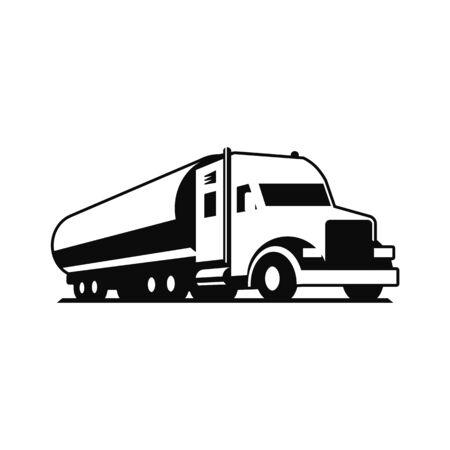 Vector truck logo. 向量圖像