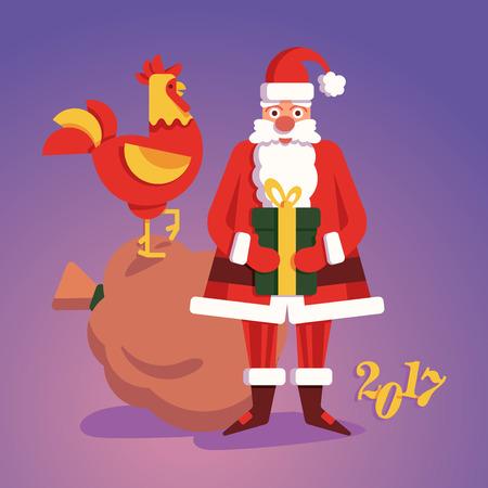 Christmass 산타 클로스 선물로