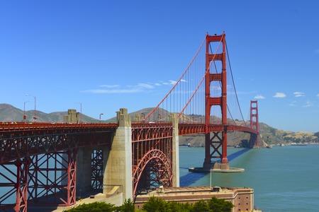 Golden Gate Reklamní fotografie