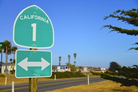 Highway signboard