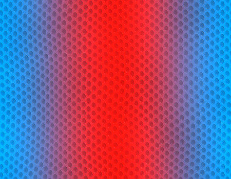 Blue and red gradient snake skin seamless pattern, bubble scale