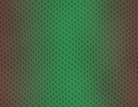 Green and brown gradient snake skin seamless pattern, bubble scale Stockfoto
