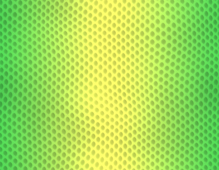 Green and yellow gradient snake skin seamless pattern, bubble scale Stockfoto
