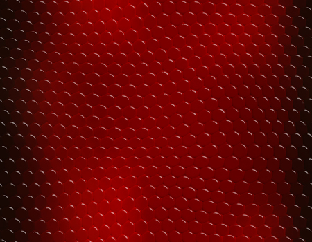 Deep red gradient snake skin seamless pattern, bubble scale