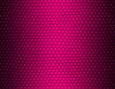 Magenta, dark and light, gradient snake skin seamless pattern, hexagonal scale