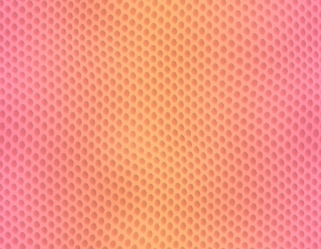 Pink and orange gradient snake skin seamless pattern, bubble scale